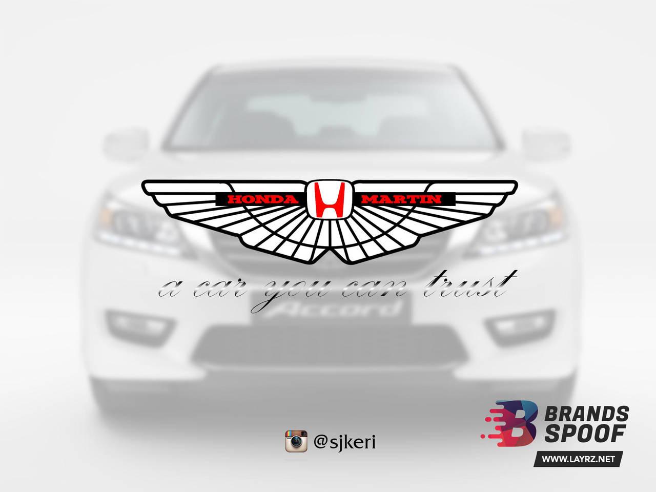 Honda Martin Spoof by sjkeri