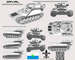 Gavial Infantry-Bullies Fighting Vehicle by Stealthflanker