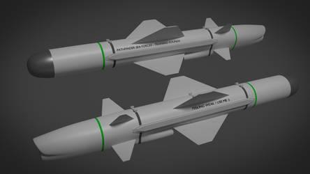 Uranium Low Cost Multiplatform Missile by Stealthflanker