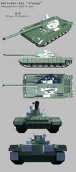 Defender-III-Alessa WIP by Stealthflanker