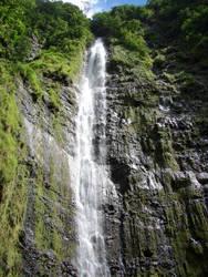 Waterfall Hawaii by luv2danz