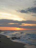 Beach sunrise by luv2danz
