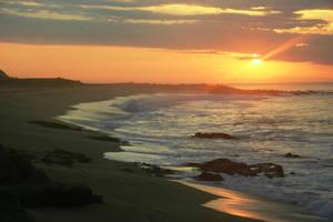 Ocean Sunset by luv2danz