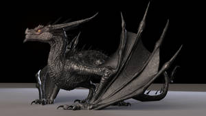 Dragon Maya Rig by cvbtruong