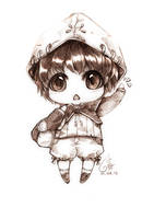 Point Commission - Chibi young Shima by TashaChan