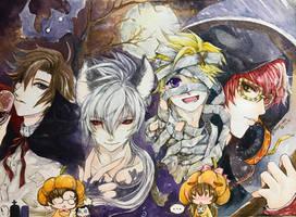 Mystic Halloween : Trick or Treat ! by TashaChan