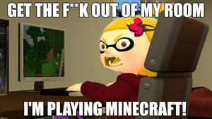 Yellowist Minecraft Meme. by RasmusHolmgren