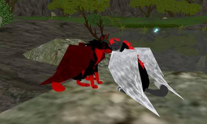 Shadow x Koga by BlackheartedShadow