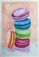 Macarons by Blue-Lilies