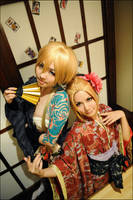 Vocaloid - Flowery Battle 1 by herotenka