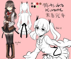 Mitsuko Reference by Scuroro