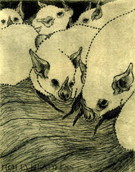 bat print 01 by hollyheadless