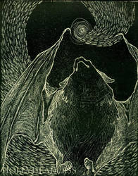 bat print 02 by hollyheadless
