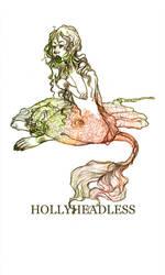 the mermaid by hollyheadless