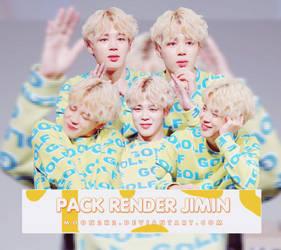 ( PACK RENDER ) JIMIN - BTS by Moon2k2