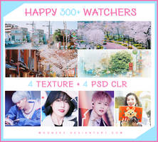 [ SHARE PACK ] HAPPY 300+ WATCHERS by Moon2k2