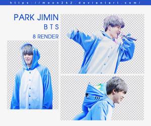 ( PACK RENDER ) JIMIN - BTS (3) by Moon2k2