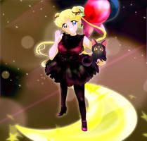 Usa and Luna by Kika777