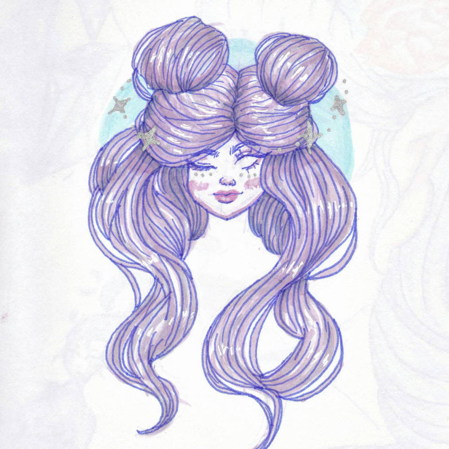 Pastel Space Buns By Aisceydemoon On Deviantart