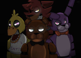 The Gang by InvaderSpotteh