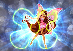 Il potere della polvere magica: Flora by SorceressIgnis