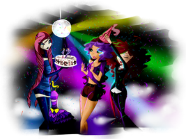 Disco Birthday by SorceressIgnis