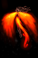 Magic of Phoenix Flame by SorceressIgnis