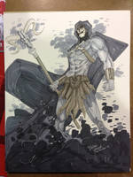 Wiz World Commission Skeletor by BrianVander