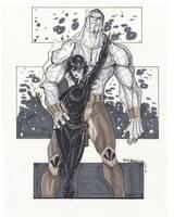 Colossus Domino by BrianVander