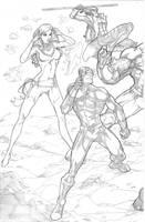 Xmen vs Brotherhood 1 by BrianVander