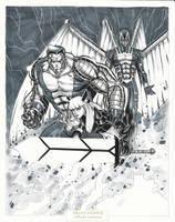 Colossus Magik ArchAngel by BrianVander