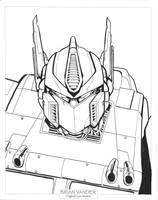 Optimus Prime by BrianVander