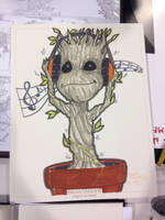 Baby Groot commission by BrianVander