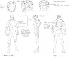 Character Study of Jonathan Grey by BrianVander