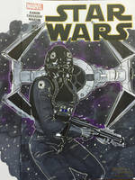 C2E2 Star Wars sketch cover commission by BrianVander