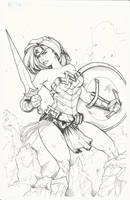 Wonder Woman by BrianVander