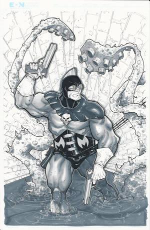Mr. Monster C2E2 Commission by BrianVander