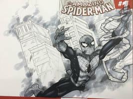 Spider-Man commission Indy Con 2016 by BrianVander