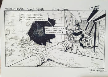 Inktober 2016 Day 9 X-Men story panel 5 by BrianVander