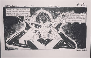 Inktober 2016 Day 10 X-Men story panel 6 by BrianVander