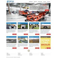 Viacon - website design by fluerasa