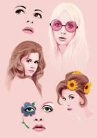 60s Girls by ElectraSinclair