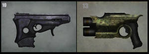 Sci-fy Gun concept by LMorse