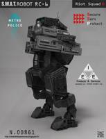 S.W.A.T.Robot RC-6 by LMorse
