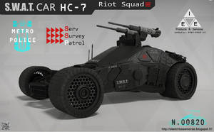 S.W.A.T.Car HC-7 by LMorse