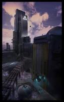 I.E.E. Center City Building v3 by LMorse