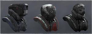 Bot Helmet Design by LMorse