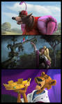 Disney repaint/paintover frame by LMorse