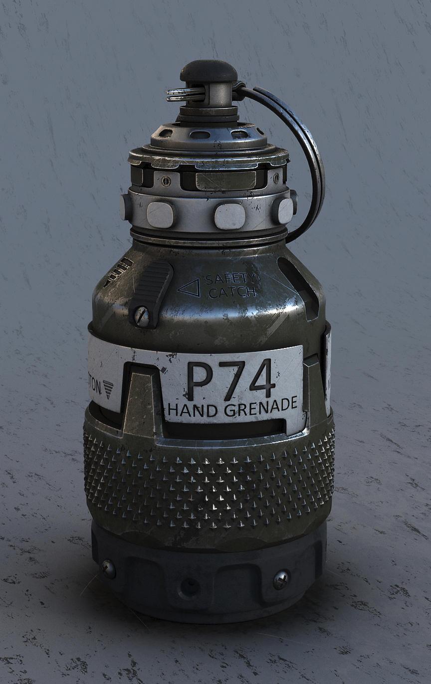 P74 - Photon hand grenade by LMorse