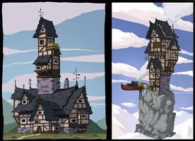 Fantasy house by LMorse